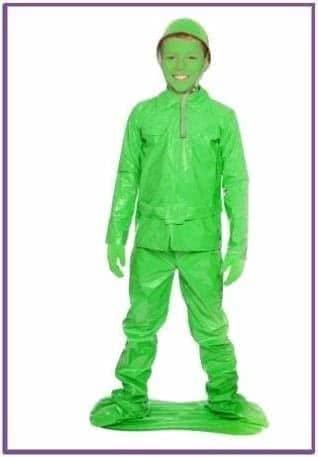 Детский костюм Зеленого Солдатика