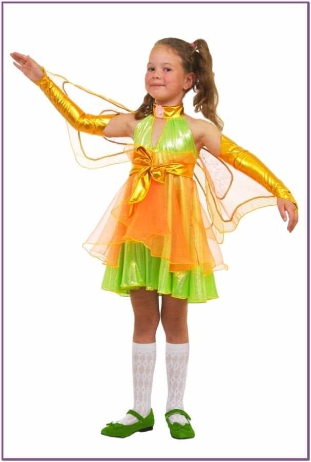 Детский костюм Зеленой Феи Виндс