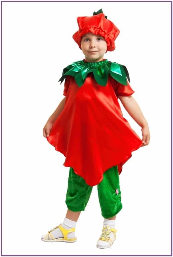 Детский костюм Земляники