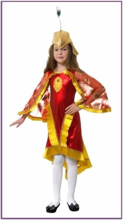 Детский костюм Жар-птицы