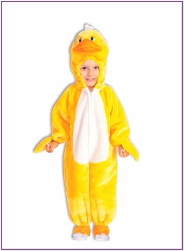 Детский костюм желтого цыпленка