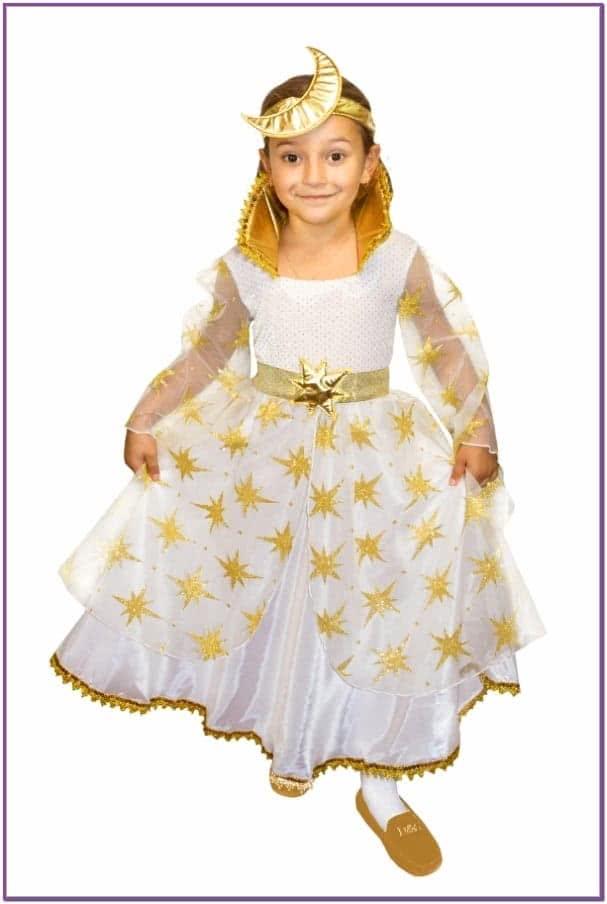 Детский костюм Золотой Феи Ночи
