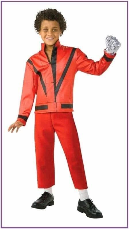 Детский красный пиджак Майкла Джексона