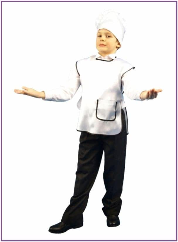 Детский набор Повара в колпаке