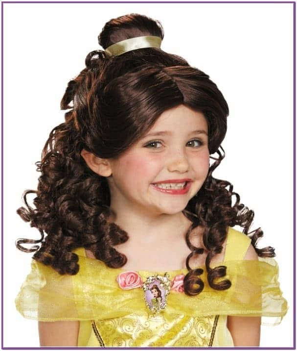 Детский парик Красавицы Бэлль