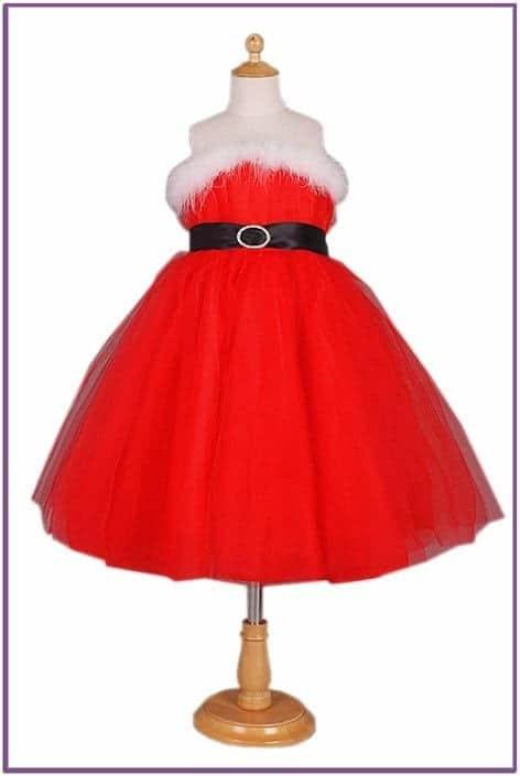 Детское платье внучки Санты