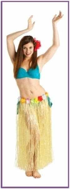 Длинная гавайская юбка