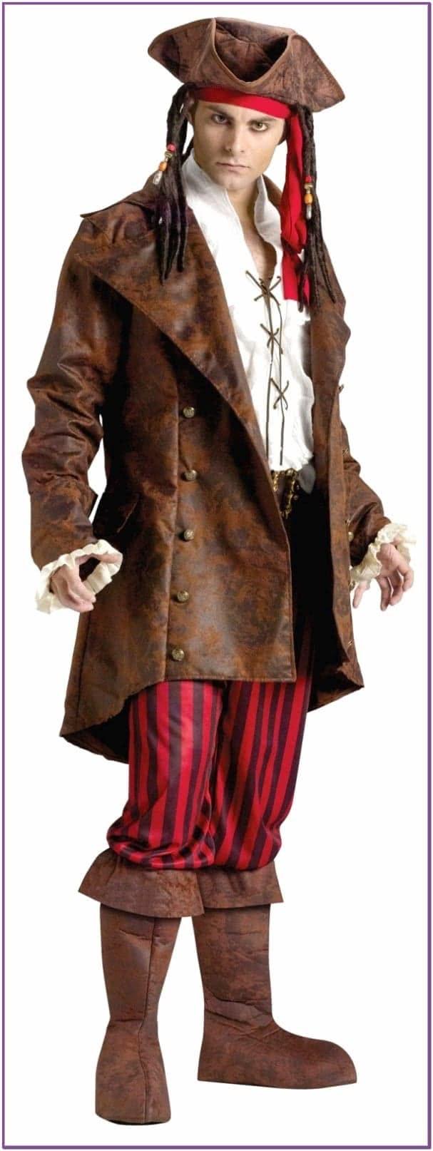 Длинный пиджак пирата