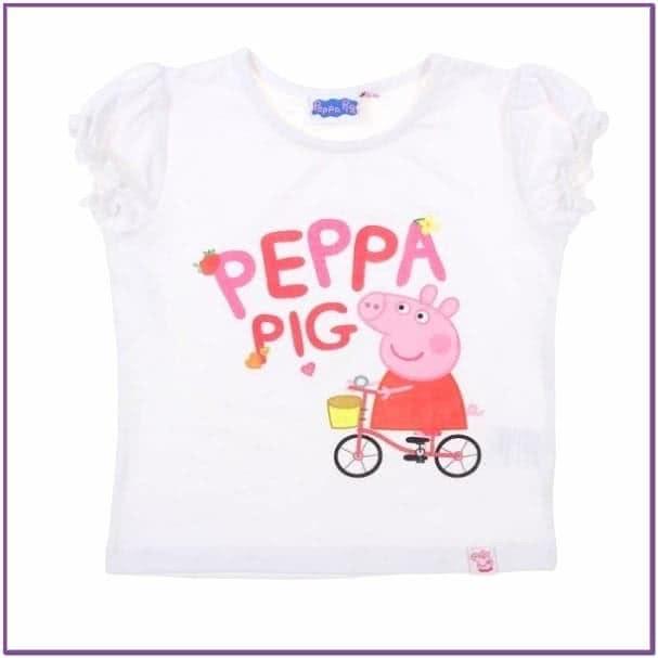 Футболка для девочек Свинка Пеппа