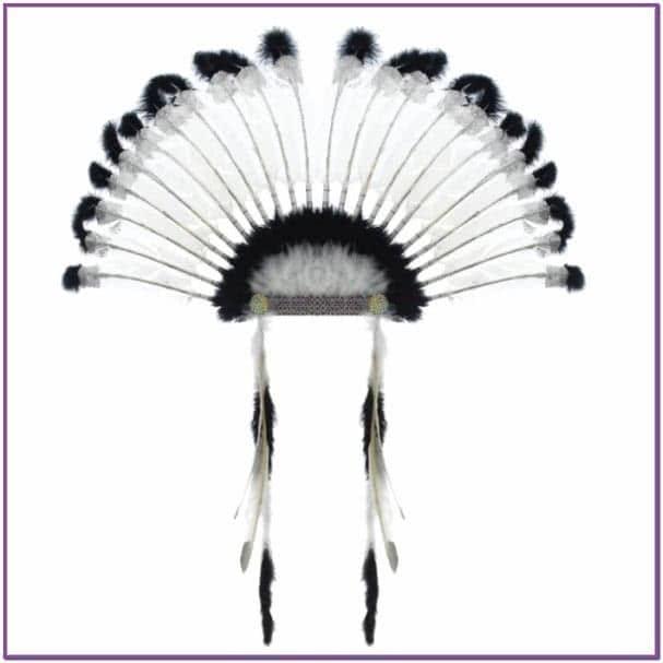 Головной убор вождя индейцев
