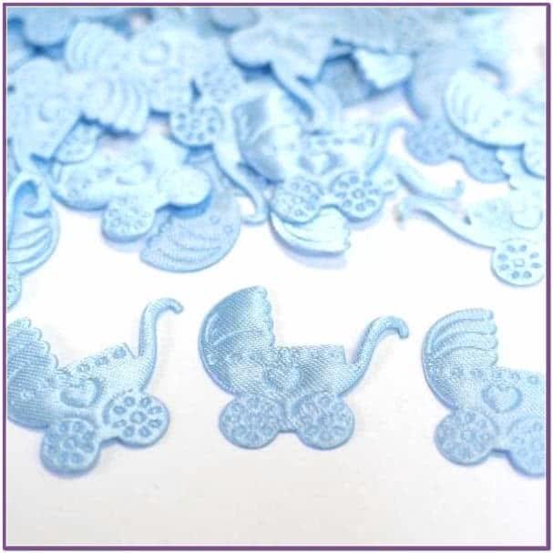 Голубое конфети Коляска