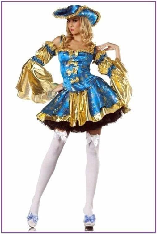 Голубой костюм Антуанетты