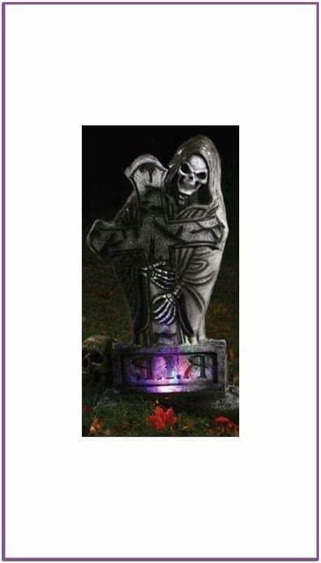 Готическое надгробие - Вестник смерти