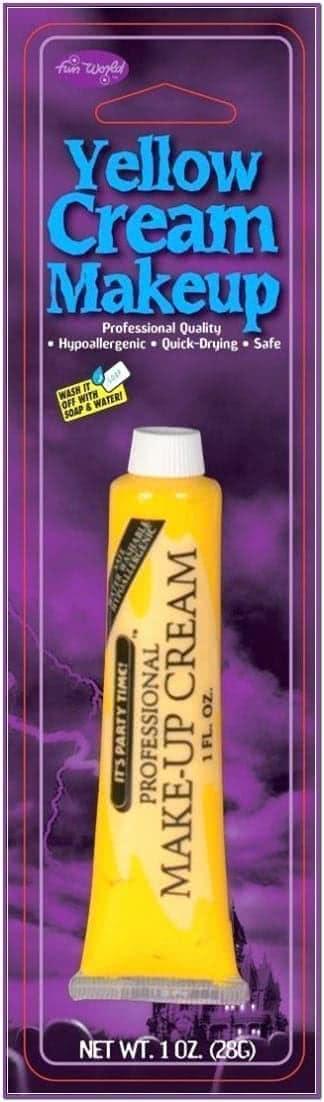 Грим для макияжа желтый