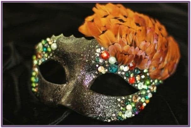 Карнавальная маска Величественная