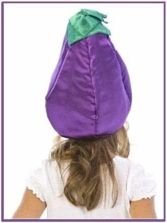 Карнавальная шапочка Баклажан