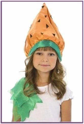Карнавальная шапочка Морковка