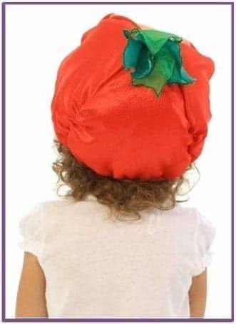 Карнавальная шапочка Помидор