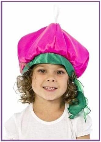 Карнавальная шапочка Редиска