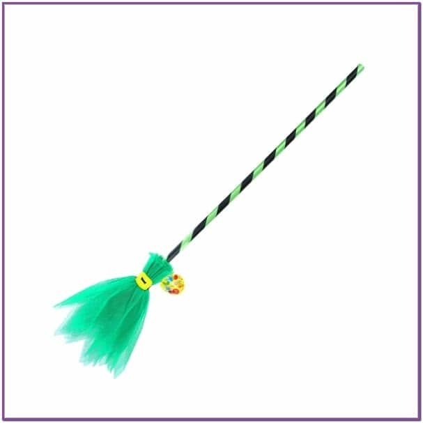 Карнавальная зеленая метелка