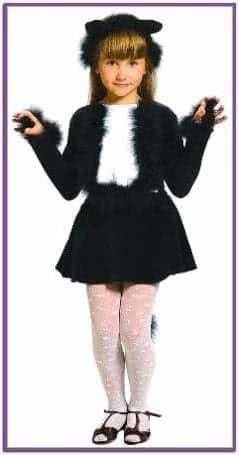 Карнавальный костюм кошечка черная