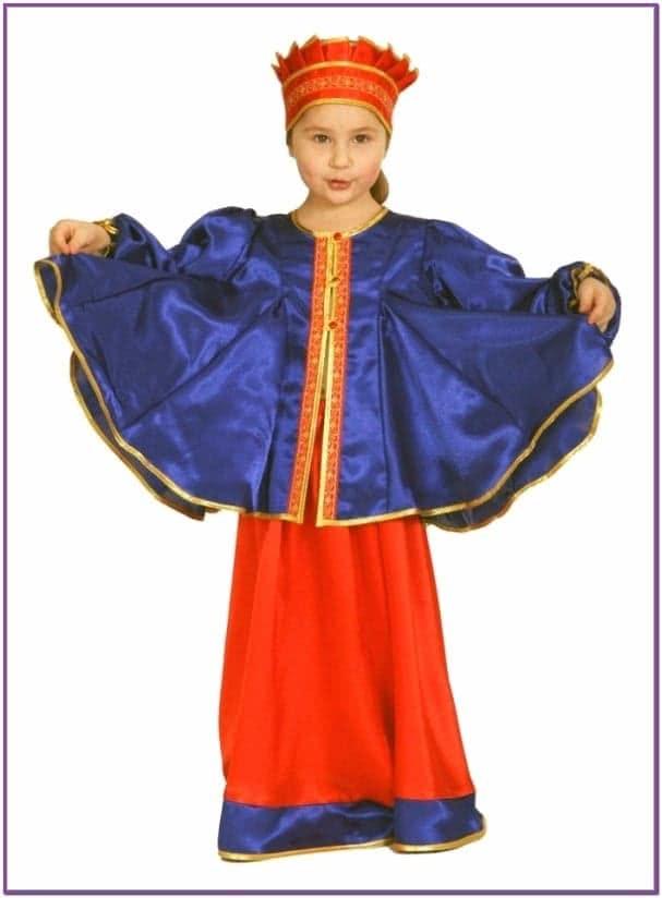 Карнавальный костюм масленица