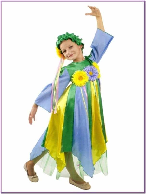 Карнавальный костюм весны