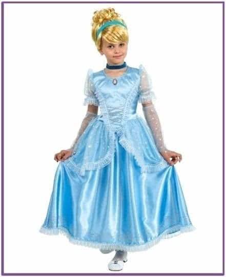 Классический детский костюм Золушки
