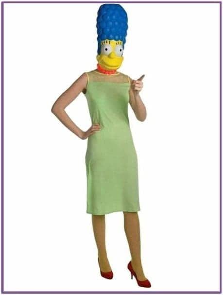 Классический костюм Мардж Симпсон