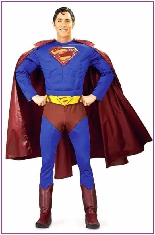 Классический костюм Супермена Deluxe