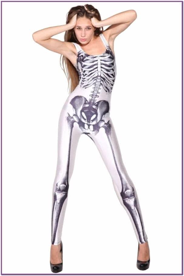 Комбинезон Мрачный скелет