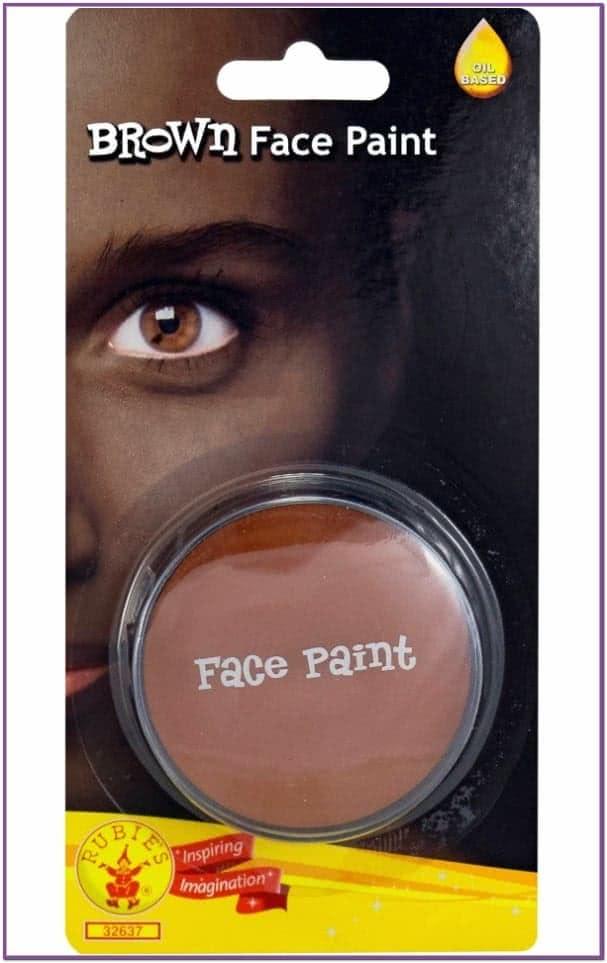 Коричневый грим-краска для лица