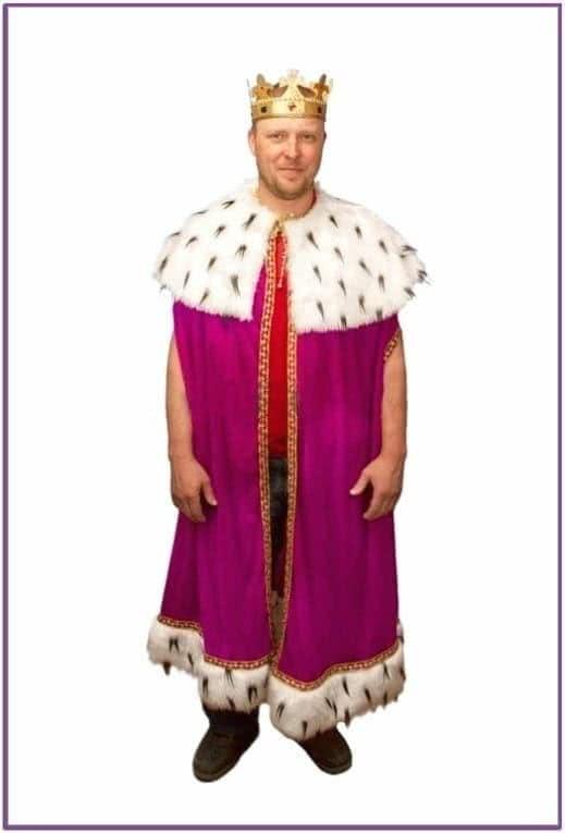 Королевский костюм