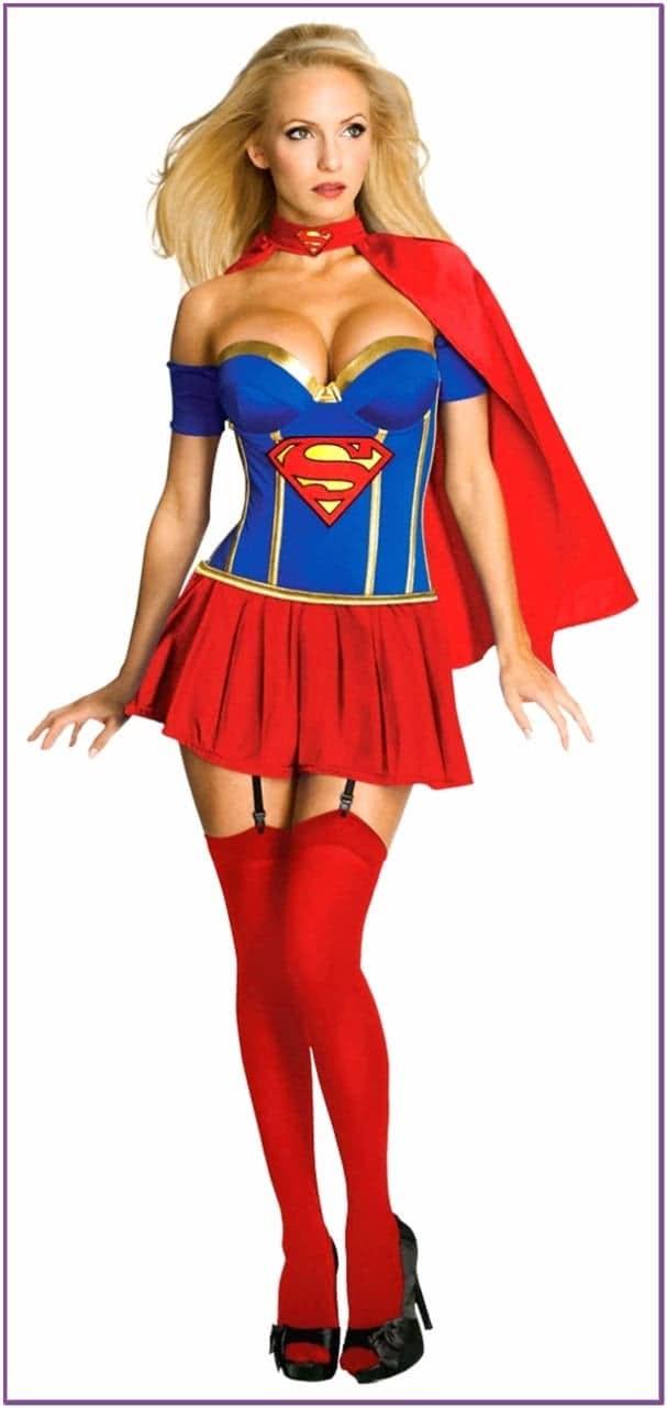 Корсетный костюм Супервумен