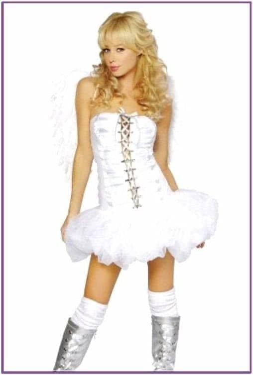 Костюм ангелочка кокетки