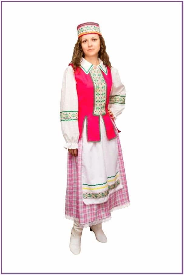 Костюм Белорусской девушки