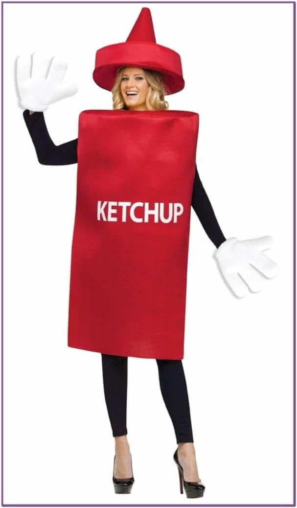 Костюм Бутыль кетчупа