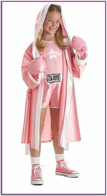 Костюм девочки боксёрши