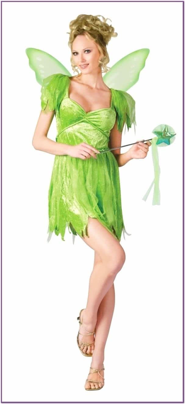 Костюм феи Динь-Динь зеленый