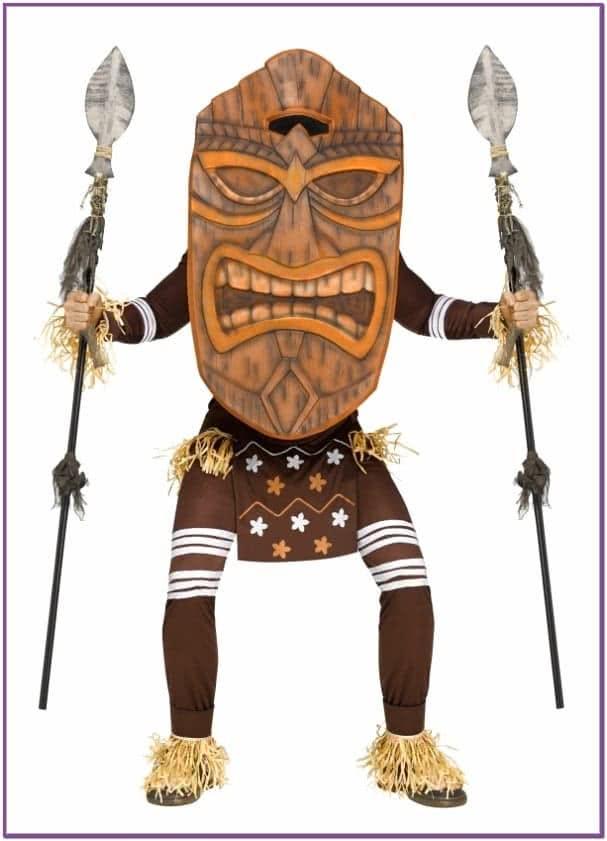 Костюм Гавайского божества