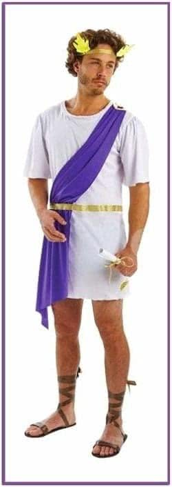Костюм греческого бога