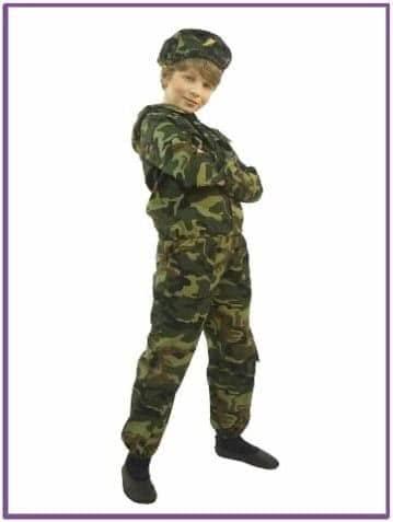 Костюм маленького десантника