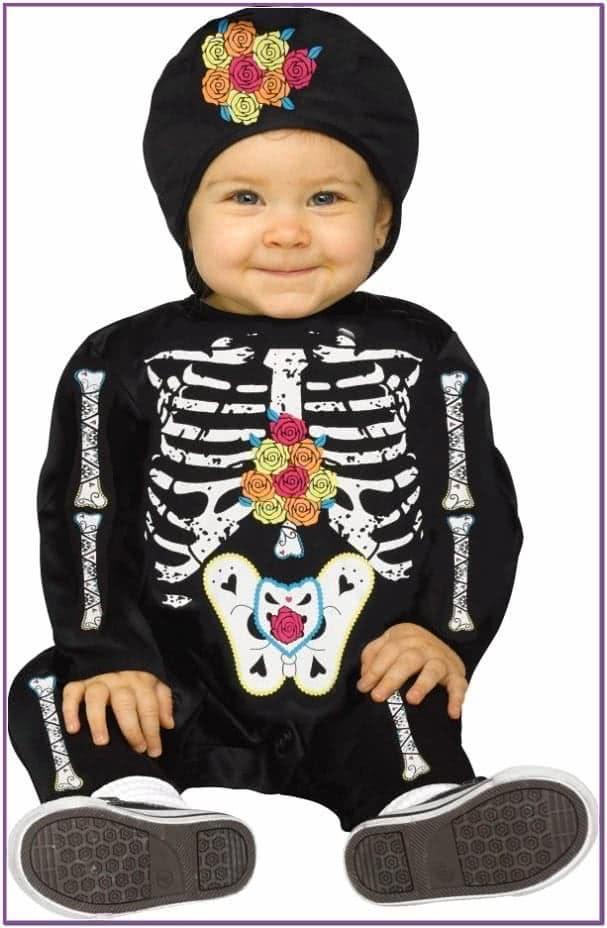 Костюм малыша-скелетона