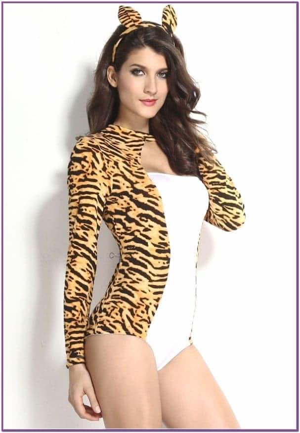 Костюм самки леопарда