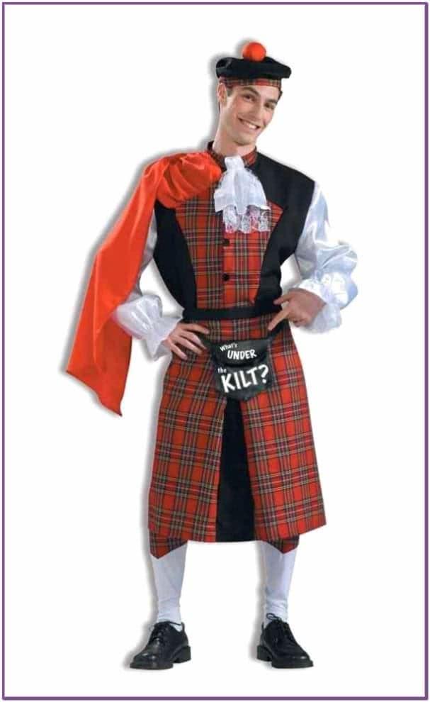 Костюм шотландца