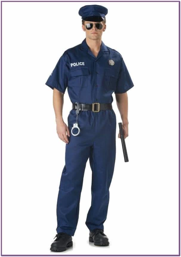 Костюм строгого полицейского