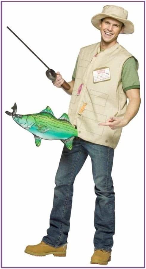 Костюм удачливого рыбака