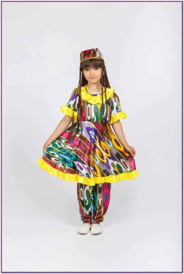 Костюм узбекской девочки