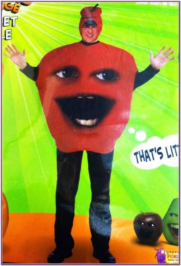 Костюм веселого яблока