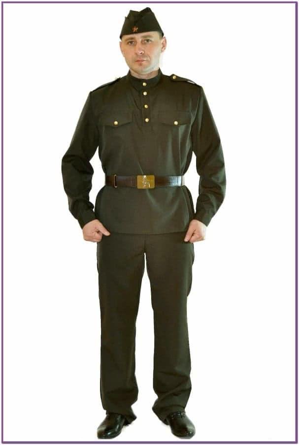 Костюм военного мужской